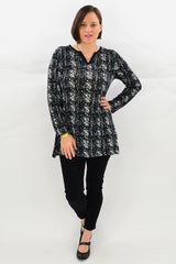 Collingwood Tunic Top | I Love Tunics | Tunic Tops | Tunic Dresses | Women's Tops | Plus Size Australia | Mature Fashion