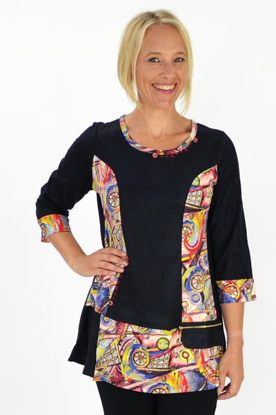 Abby Tunic | I Love Tunics | Tunic Tops | Tunic Dresses | Women's Tops | Plus Size Australia | Mature Fashion