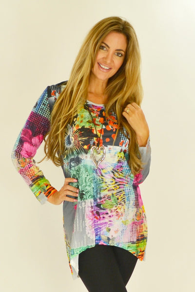 Tanyas Floral Tunic | I Love Tunics | Tunic Tops | Tunic | Tunic Dresses  | womens clothing online