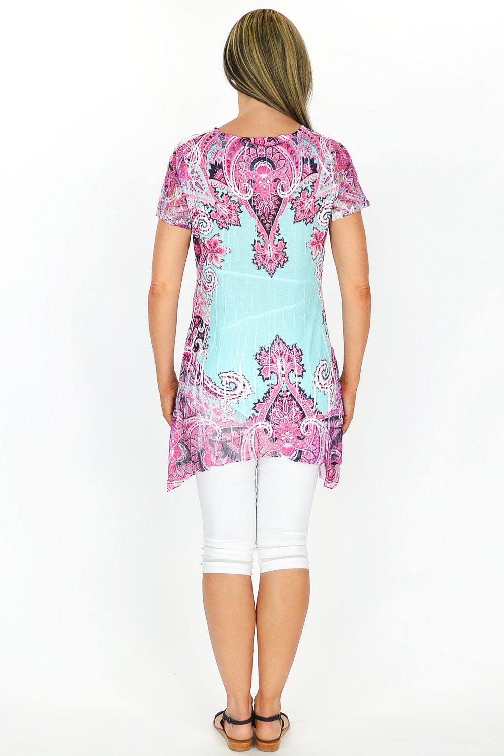 Zaras Paisley Tunic - at I Love Tunics @ www.ilovetunics.com = Number One! Tunics Destination