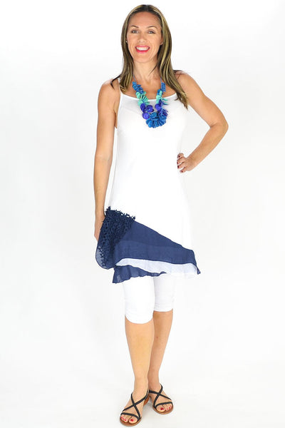 Navy 2 in 1 Tunic | I Love Tunics | Tunic Tops | Tunic | Tunic Dresses  | womens clothing online