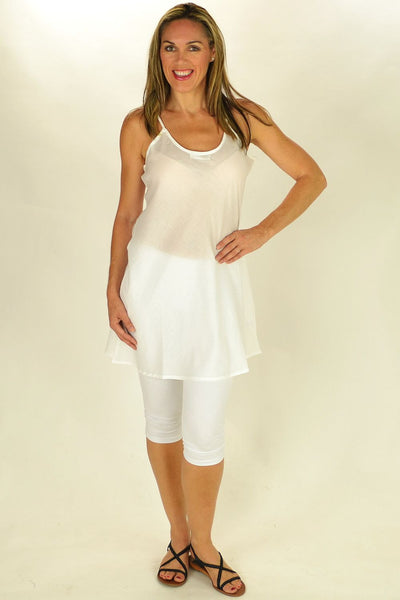 Cotton White Slip