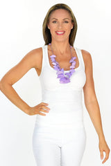 Purple Moon Necklace - at I Love Tunics @ www.ilovetunics.com = Number One! Tunics Destination