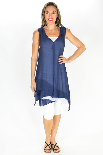Navy 2 in 1 Tunic
