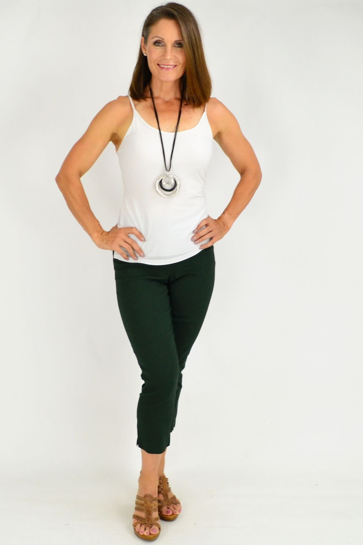 Dark Green Clarity Pants | I Love Tunics | Tunic Tops | Tunic | Tunic Dresses  | womens clothing online
