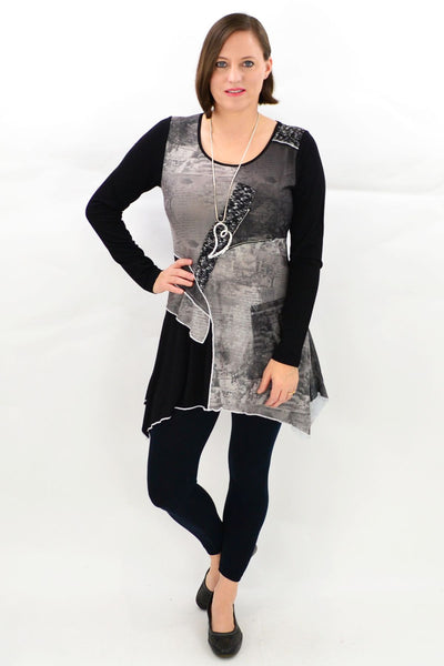 Lillian Winter Tunic Top