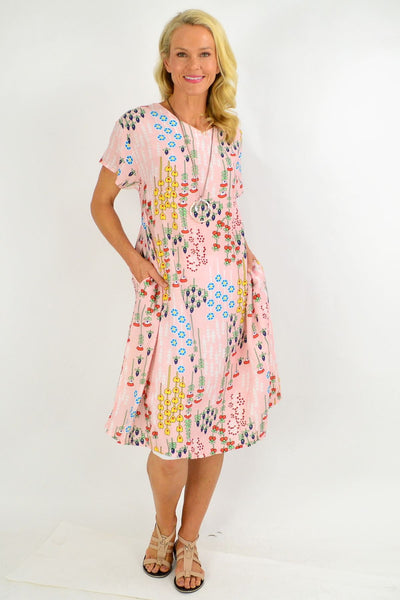Pink Berry Tunic Dress