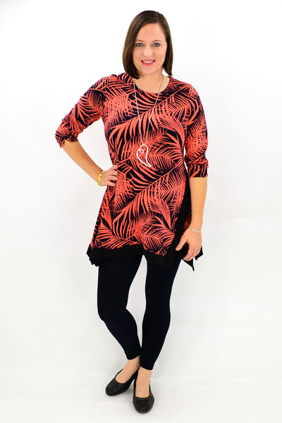 Red Autumn Delight - at I Love Tunics @ www.ilovetunics.com = Number One! Tunics Destination