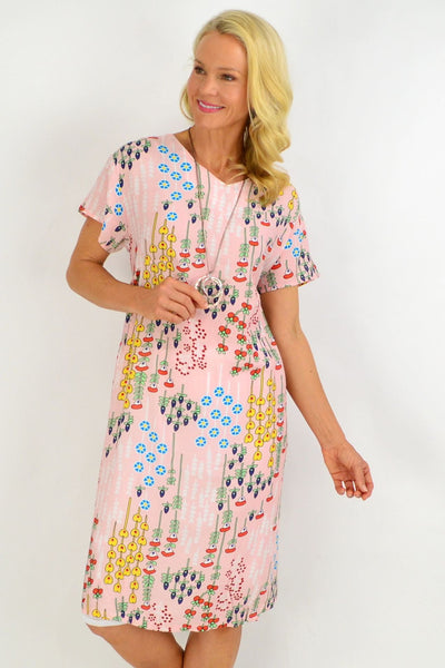 Pink Berry Tunic Dress | I Love Tunics | Tunic Tops | Tunic | Tunic Dresses  | womens clothing online