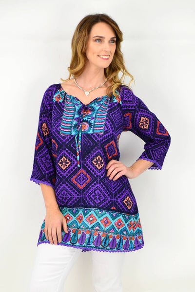 Leah Tunic Top