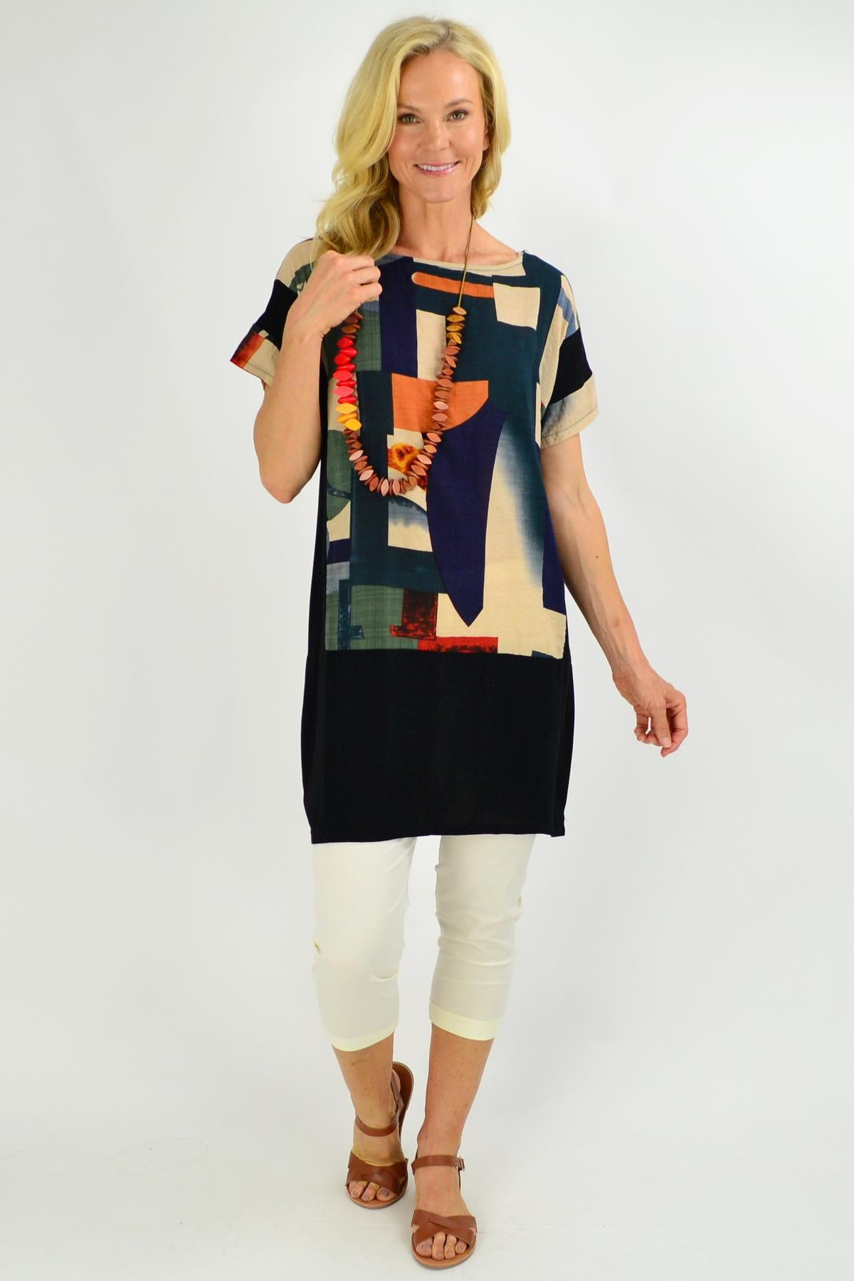 Abstract Art Tunic Top | I Love Tunics | Tunic Tops | Tunic | Tunic Dresses  | womens clothing online