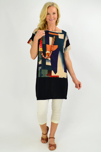Abstract Art Tunic Top