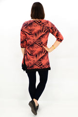 Orange Safari Tunic Top | I Love Tunics | Tunic Tops | Tunic | Tunic Dresses  | womens clothing online
