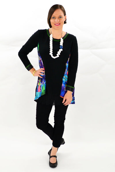 Julie Straight cut Tunic Top