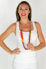 Long Gwendolyn Necklace - at I Love Tunics @ www.ilovetunics.com = Number One! Tunics Destination