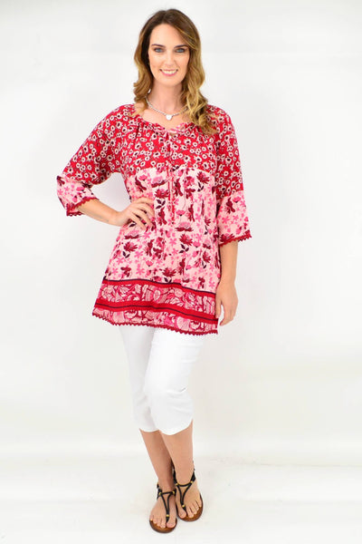Jade Tunic Top