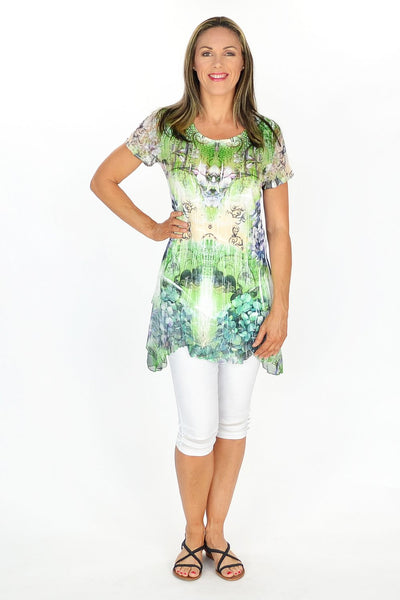 Green Frenchy Penny Tunic