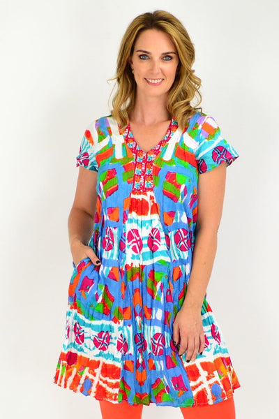 San Marco Easy Fit Tunic Dress