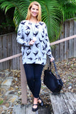 Birds of a Feather Tunic Top | I Love Tunics | Tunic Tops | Tunic | Tunic Dresses  | womens clothing online