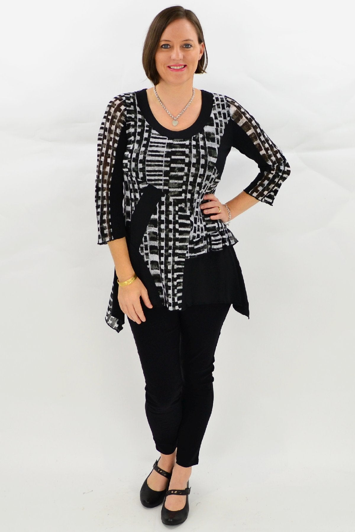 Hattie Tunic Top - at I Love Tunics @ www.ilovetunics.com = Number One! Tunics Destination