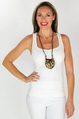 Long Wild Necklace - at I Love Tunics @ www.ilovetunics.com = Number One! Tunics Destination