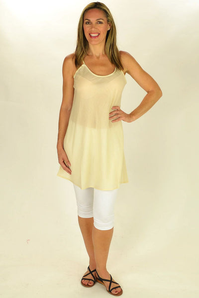 Cotton Nude Slip