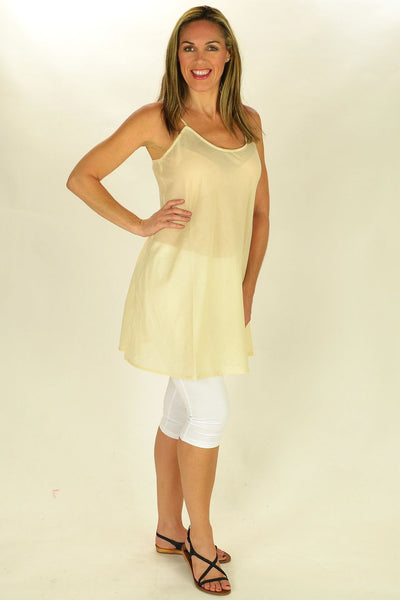Cotton Nude Slip - at I Love Tunics @ www.ilovetunics.com = Number One! Tunics Destination