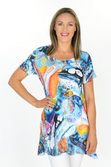 Great Barrier Reef Tunic | I Love Tunics | Tunic Tops | Tunic | Tunic Dresses  | womens clothing online