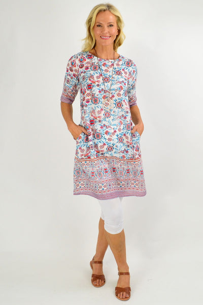 Ronda Shift Tunic Dress - I Love Tunics