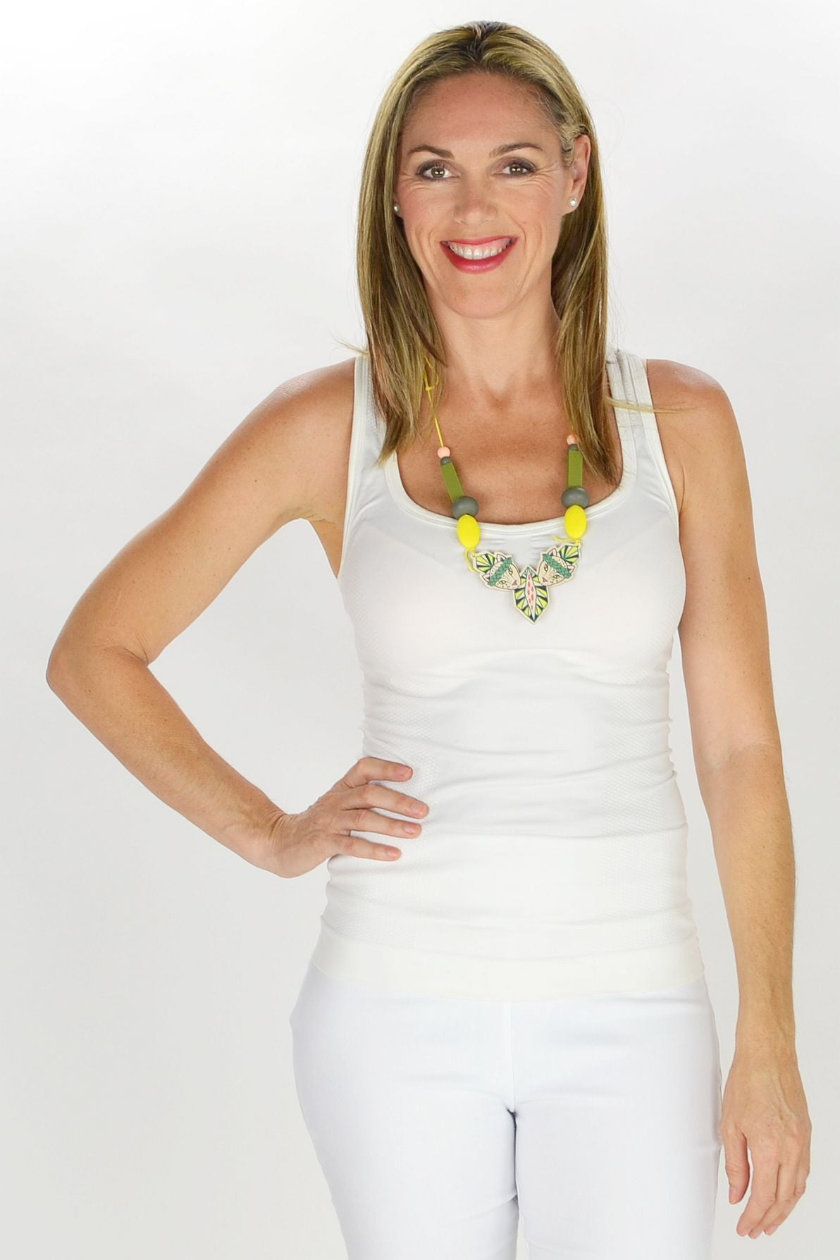 Jungle Puma Necklace - at I Love Tunics @ www.ilovetunics.com = Number One! Tunics Destination