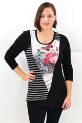 Nora Winter Tunic Top