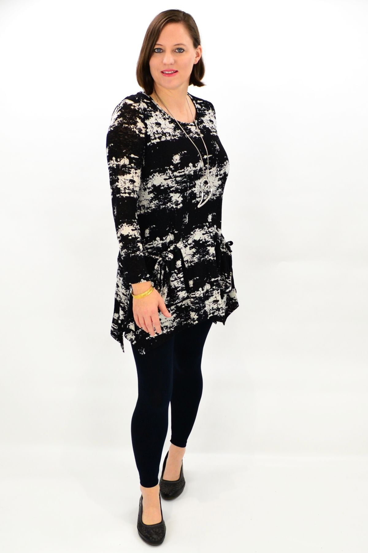 Black Vivian Tunic Top | I Love Tunics | Tunic Tops | Tunic | Tunic Dresses  | womens clothing online