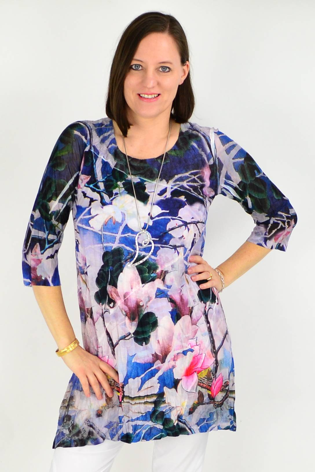 Flower Tree Tunic Top