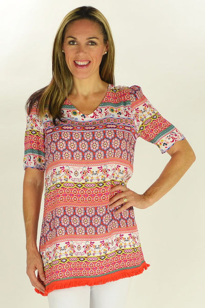 Relaxed Rhonda Tunic - at I Love Tunics @ www.ilovetunics.com = Number One! Tunics Destination