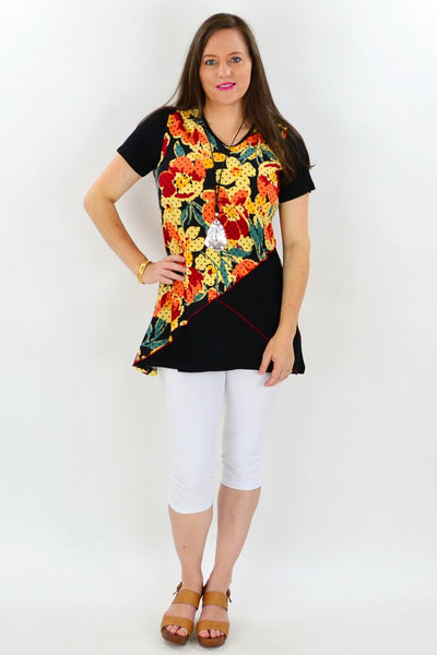 Flower Shop Tunic Top