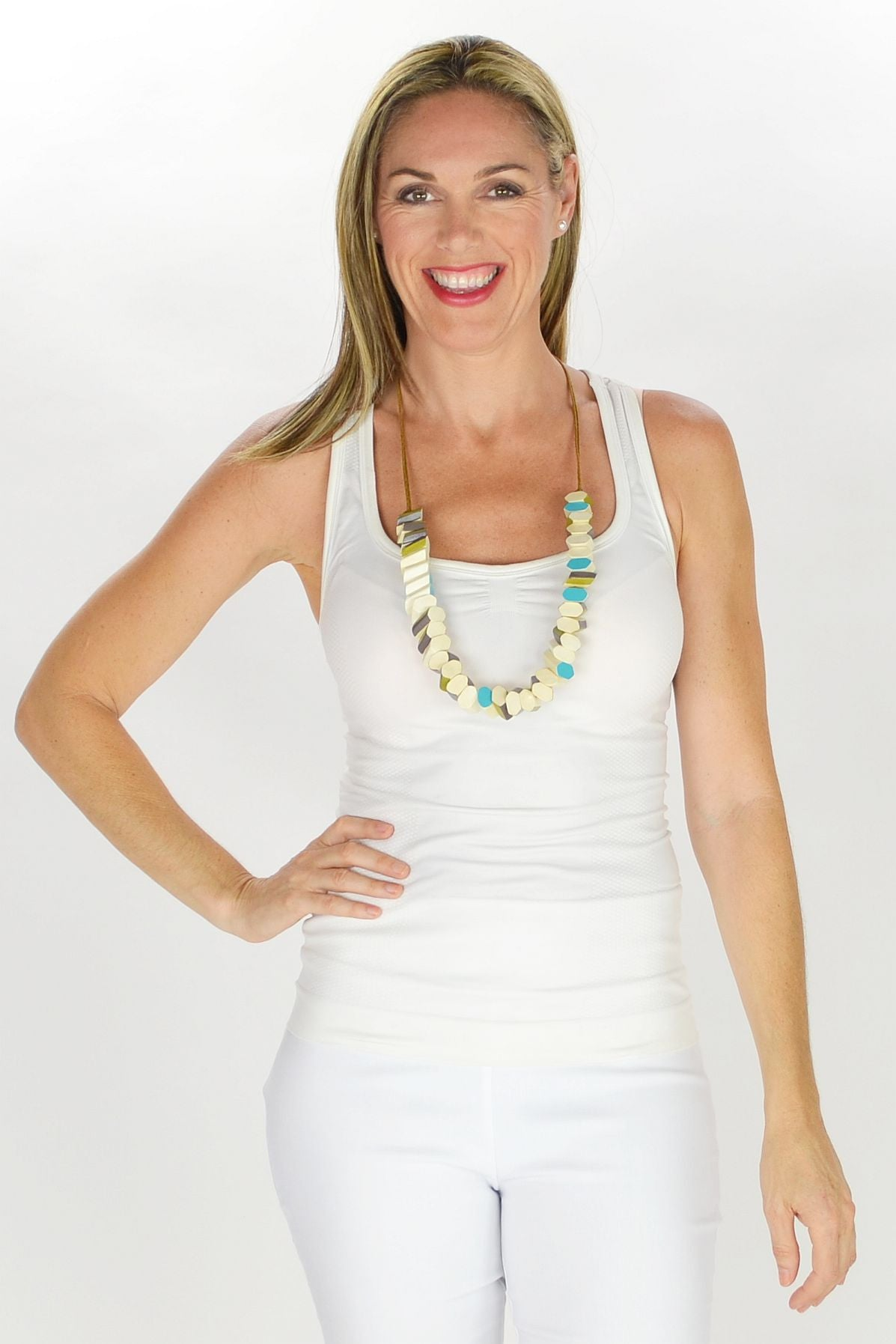 Lizzy Necklace - at I Love Tunics @ www.ilovetunics.com = Number One! Tunics Destination