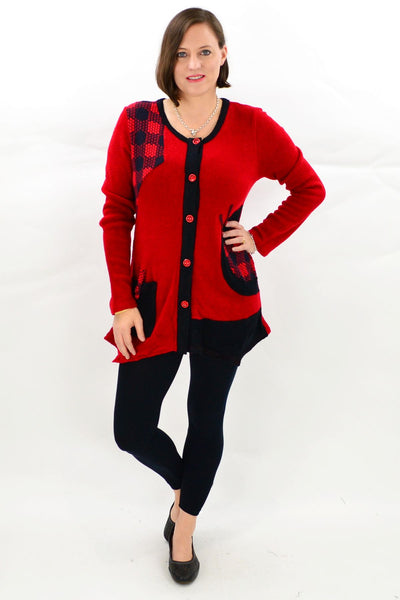 Aria Winter Tunic Top
