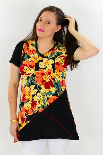 Flower Shop Tunic Top - at I Love Tunics @ www.ilovetunics.com = Number One! Tunics Destination