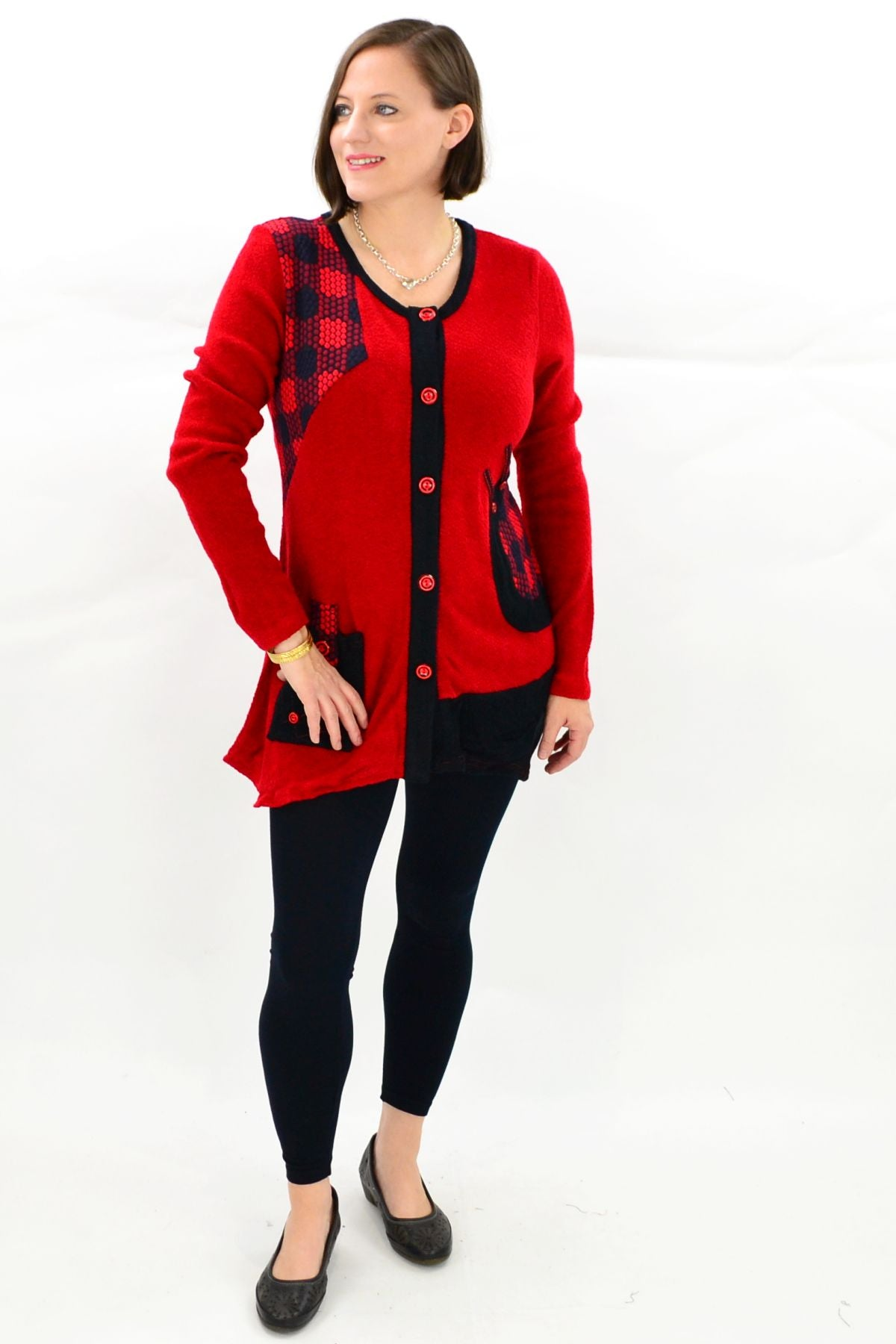 Aria Winter Tunic Top | I Love Tunics | Tunic Tops | Tunic Dresses | Women's Tops | Plus Size Australia | Mature Fashion