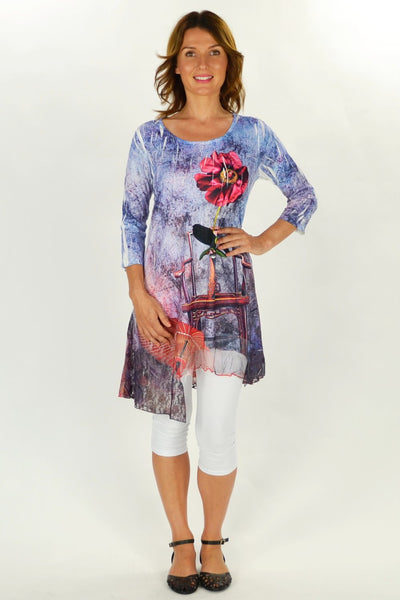 Michelles Flower Tunic