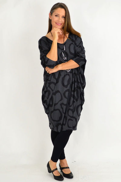 Charcoal Grey Nova Relaxed Tunic