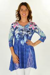 Cardinal Bird Tunic | I Love Tunics | Tunic Tops | Tunic Dresses | Women's Tops | Plus Size Australia | Mature Fashion
