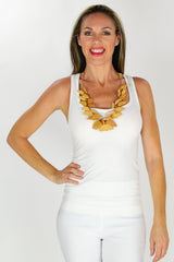 Mustard Necklace | I Love Tunics | Tunic Tops | Tunic | Tunic Dresses  | womens clothing online