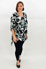 Grey Helena Tunic Top