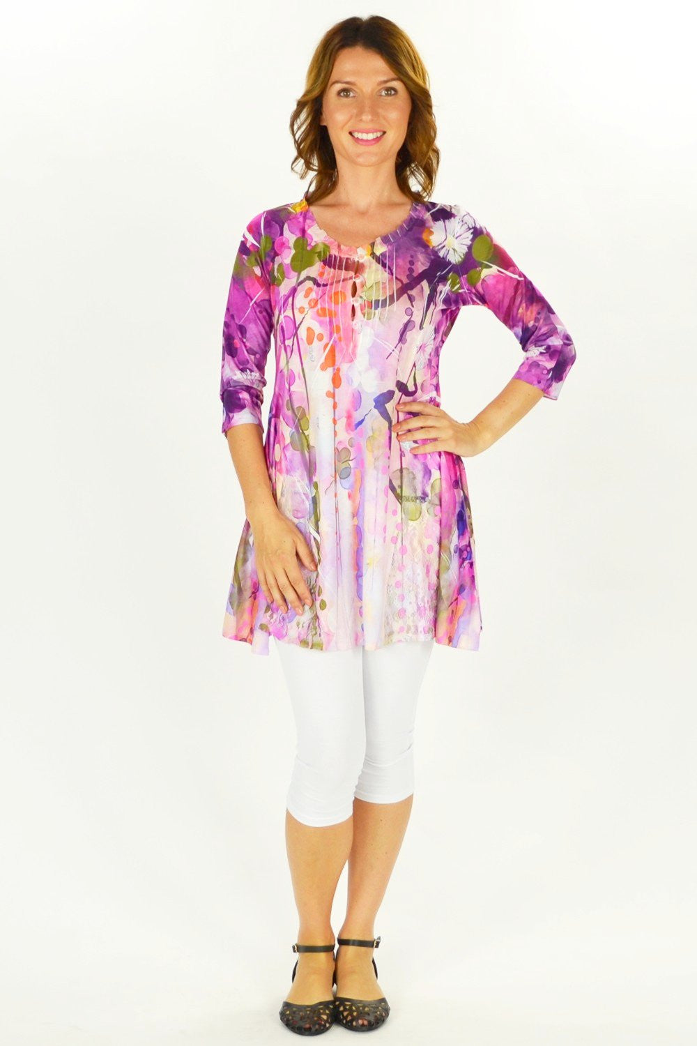 Forest Flowers Tunic