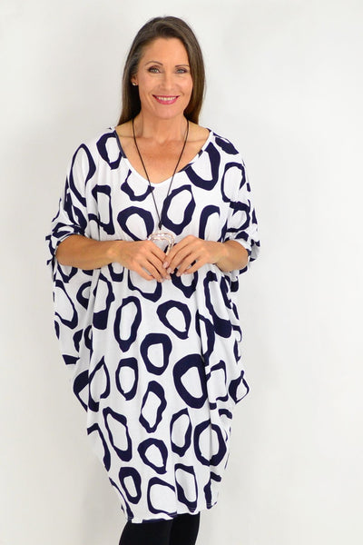 White Nova Relaxed Tunic