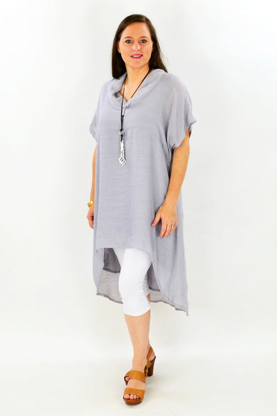 Grey Hayman Island Tunic - at I Love Tunics @ www.ilovetunics.com = Number One! Tunics Destination