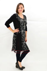 Evelyn Winter Tunic Dress