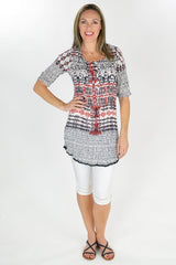 Rajasthan Tunic - at I Love Tunics @ www.ilovetunics.com = Number One! Tunics Destination