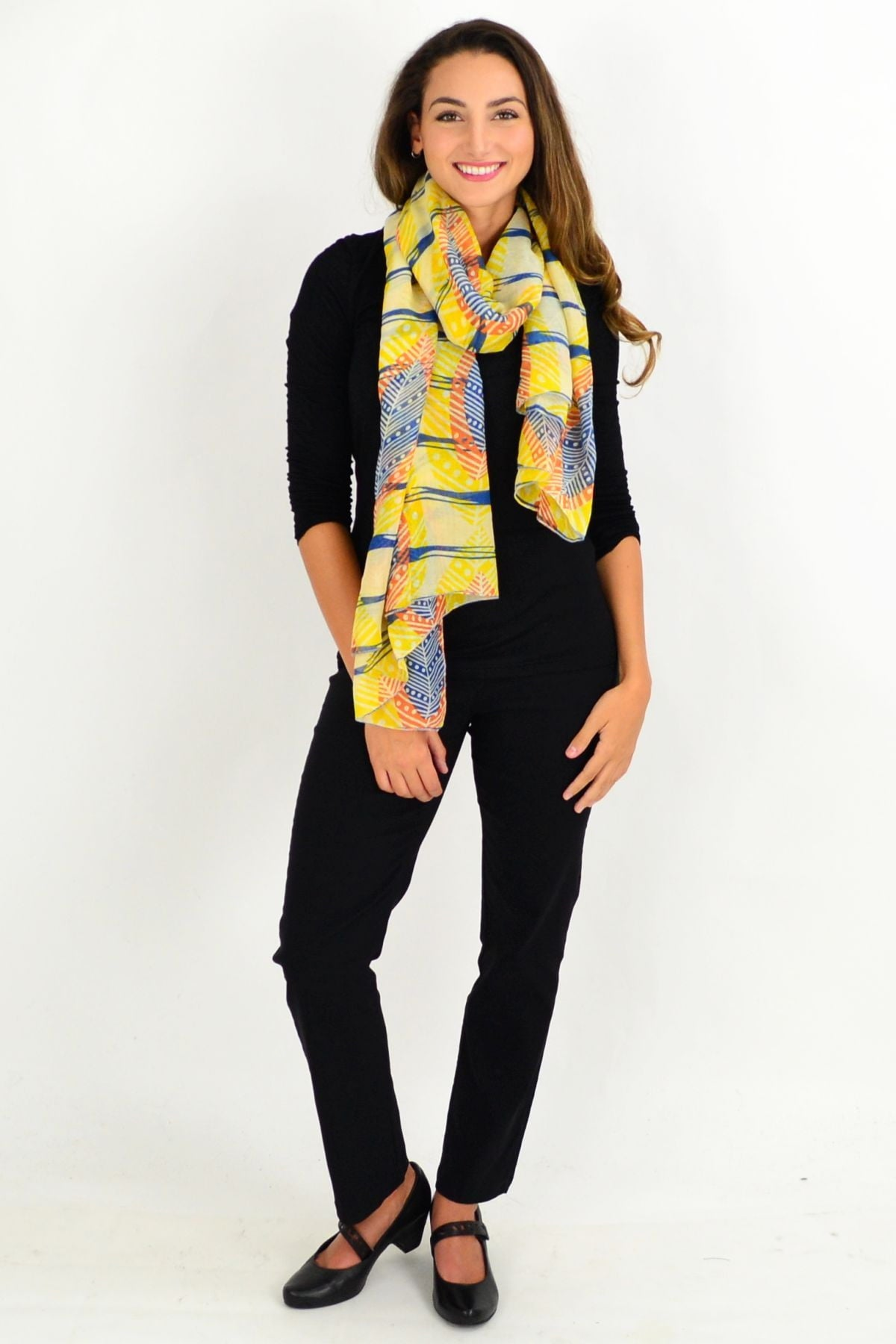 Yellow Queenstown Scarf | I Love Tunics | Tunic Tops | Tunic | Tunic Dresses  | womens clothing online